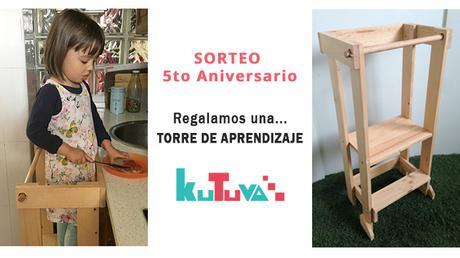 SORTEO 5to Aniversario: Regalamos una Torre de Aprendizaje de Kutuva!!!