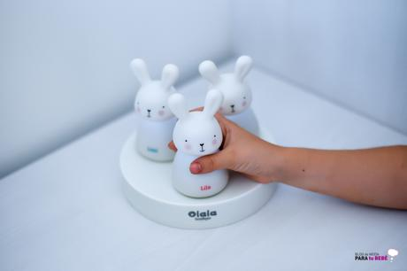 Olala Bunnies, el camino de luces quitamiedos