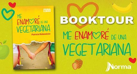 Book Tour: Me enamoré de una vegetariana