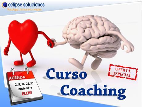 Cartel del curso de coaching presonal en Elche