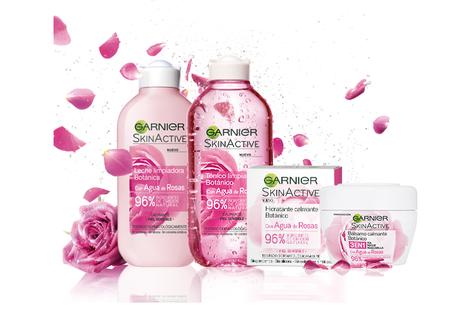 Garnier Skin Active Gama Botánica Agua de Rosas