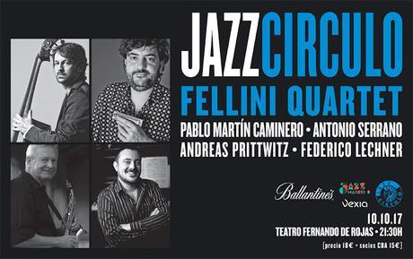 X Edición de JAZZ CÍRCULO en sintonía con Federico Fellini.