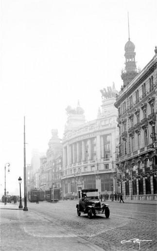 Fotos antiguas: Calle de Alcalá (1930)