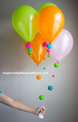 Fotos con ideas y decoracion facil con globos para cumpleaos