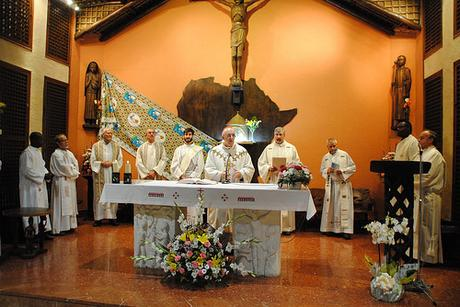 Los misioneros combonianos celebran los 150 años de su fundación