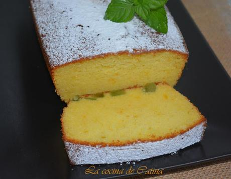 Plum cake de harina de arroz