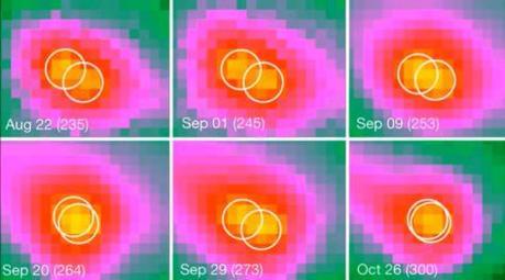 Un nuevo tipo de objeto observado en el Sistema Solar