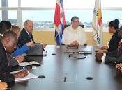 Ministro Turismo dominicano reúne homóloga Haití