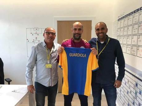 AFA Angola con Pep Guardiola