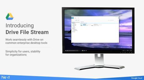 Drive File Stream, el reemplazo de Google Drive