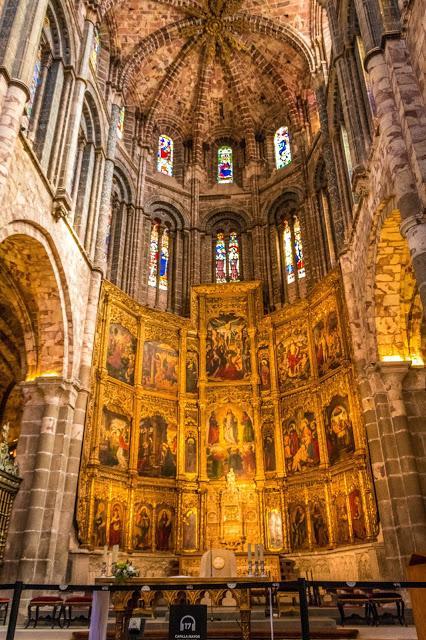 España, Castilla y León, Ávila, Catedral,