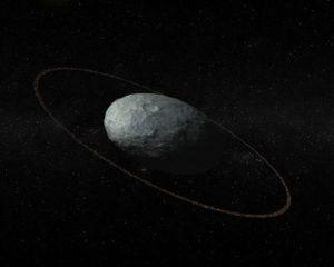 Detectado un anillo alrededor del planeta enano Haumea
