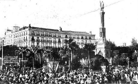 Efemérides: La primera Fiesta de la Raza. Madrid, 12 de octubre de 1917