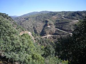 Ruta motera y atrevida en la Sierra Norte