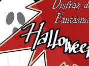 Disfraz fantasma bolsa basura para Halloween