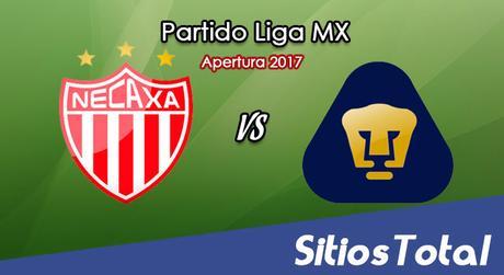 Necaxa vs Pumas en Vivo – Jornada 13 Apertura 2017 Liga MX – Sábado 14 de Octubre del 2017