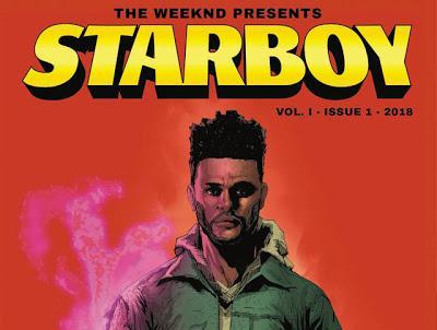 """""""Starboy"""", el cómic de The Weeknd"""