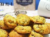 Cookies dátiles, pistachos azahar