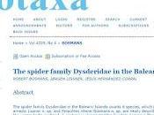 Nuevas arañas descubiertas España
