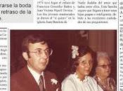 Portada manipulada Diario Información: Boda Juan Paquita