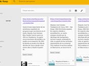 Google Keep como herramienta investigación