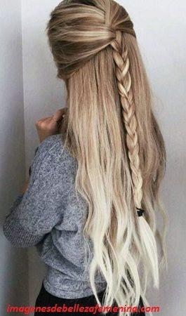 ver peinados faciles y bonitos para niña trenza