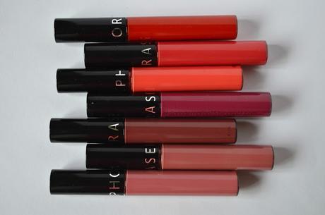 Mis Cream lip stain de Sephora (Swaches)