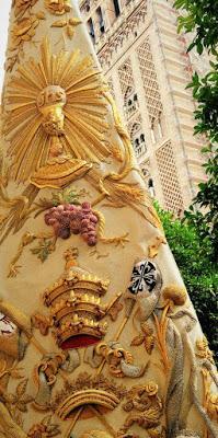 Representación de nuestra Hermandad en la procesión de regreso de Ntra. Sra. de la Salud tras su Coronación Canónica