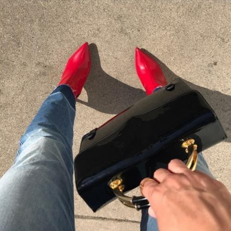 red booties
