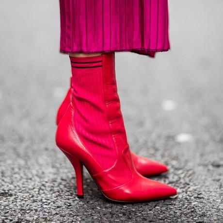 Mundo blogger: red booties