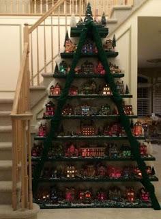 13 Ideas de cómo decorar con escaleras en esta navidad