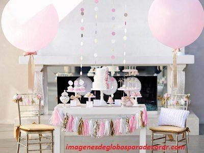 Globos para con casas decoraciones