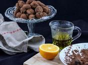 Trufas naranja aceite oliva virgen extra picual