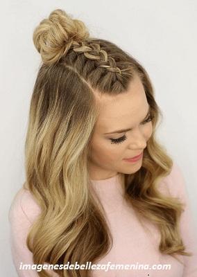 Imagenes Con Sencillos Peinados De Moda Para Mujeres Jovenes Paperblog - Fotos-peinados-de-moda