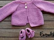 Como hacer chaquetita jersey bebe tejido tutorial video