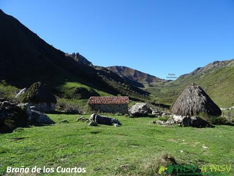 Ruta al Cornón por el Valle los Cereizales: Braña los Cuartos