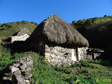 Ruta al Cornón por el Valle los Cereizales: Teito en la Braña de la Pornacal