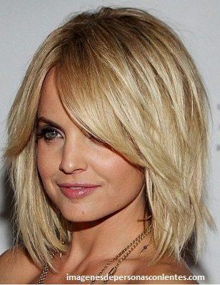 diferentes cortes de cabello para dama mediano