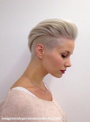 diferentes cortes de cabello para dama rapado