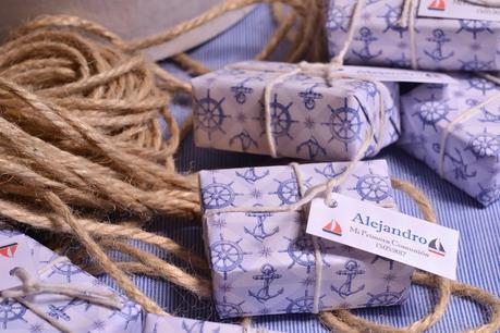 Detalles para comunión marinera jabones personalizados hechos a mano