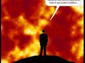 Galicia arde; están quemando.