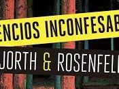 Silencios inconfesables Hjorth Rosenfeldt
