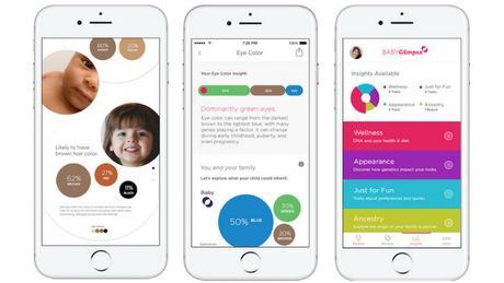 ¿Cómo será mi bebé? BabyGlimpse usa tu ADN para ofrecer predicciones