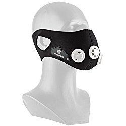 Capital Sports breathor–Máscara de entrenamiento Cardio/Training Mask de simulación de altitude para ampliación de Endurance–7puntas para simuler hasta 5500M de altitude (varios tamaños disponibles) Talla:medium