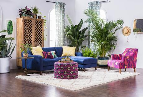 Justina Blakeney para Living Spaces