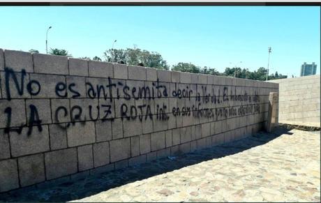 Antisemitismo: monumento al holocausto vandalizado en Uruguay.