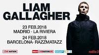 Conciertos de Liam Gallagher en España