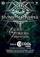 Concierto de Stoned at Pompeii y Aces & jokers en Icon Stage