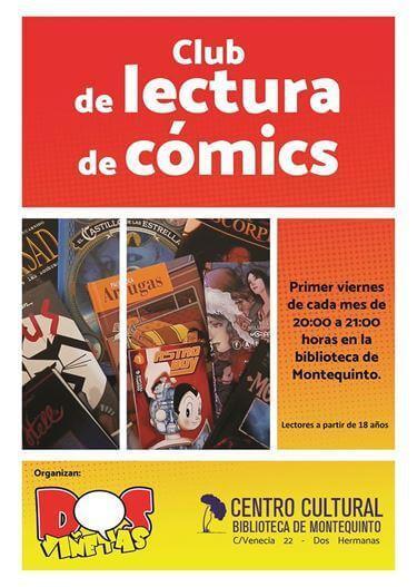 'Club de lectura de cómics' en la Biblioteca de Montequinto