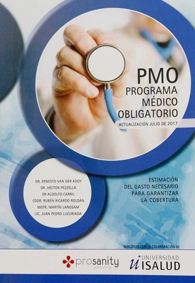 Programa Médico Obligatorio – Nueva actualización a Julio 2017